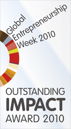 Global Entrepreneurship Week 2010 Award