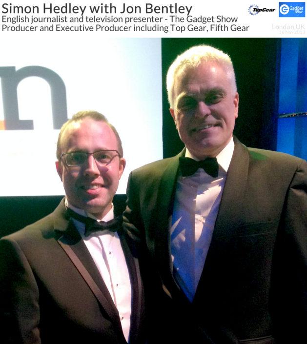 Simon Hedley with Jon Bentley 16 Nov 2013