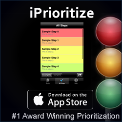 iPrioritze the worlds number one prioritisation app